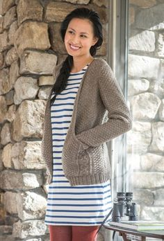 Millington Cardigan in Berroco Ultra Wool - Portfolio4 - Downloadable PDF. Discover more patterns by Berroco at LoveKnitting. The world's largest range of knitting supplies - we stock patterns, yarn, needles and books from all of your favourite brands.