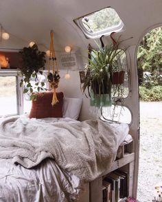 Camping Glamour, Glamping, Rv Camping, Camping Cabins, Best Small Rv, Caravan Renovation, Van Home, Van Living, Vintage Travel Trailers