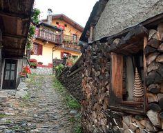 piccolo paese di montagna, Piemonte