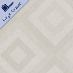 Capped Ivory Kaleidecor Tiles from Walls and Floors