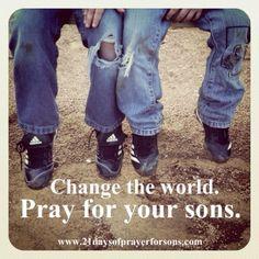 Pray. Pray. Pray.