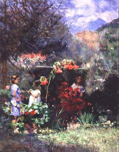Pinturas de Eliseu Visconti! | Artes & Humor de Mulher