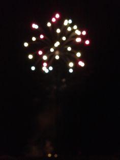 Whitley Bay fireworks, Nov 2014