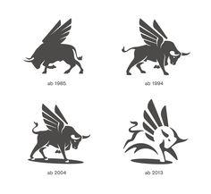 Flügelstier / Winged Bull by Karl Design #logo #mark