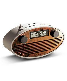 This Retro Oval Clock Radio is perfect! #zulilyfinds