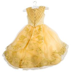 Disney Belle Limited Edition Costume for Kids Beauty and The Beast Live Action Film Size 4 -- See this wonderful item. (This is an affiliate link ). Beauty And The Beast Halloween Costume, Belle Halloween Costumes, Fancy Dress Costumes Kids, Diy Costumes, Disney Store Costumes, Disney Fancy Dress, Belle Dress, Disney Beauty And The Beast, Party Gowns