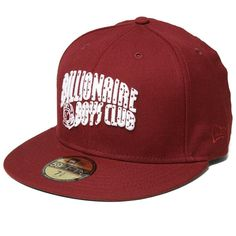 Billionaire Boys Club Arch Logo New Era Cap (Red & White)