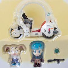 Dragon Ball Z Mecha & Figure Bulma & Oolong Unifive JAPAN ANIME MANGA…