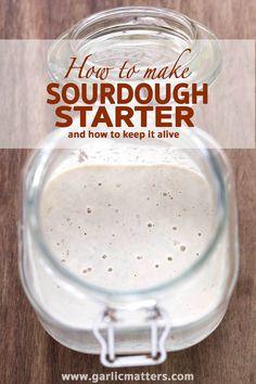 how to make best sourdough starter