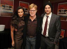 Demi Moore, Robert Redford & Aston Kutcher