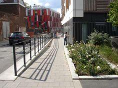 Parking rue des Fabricants Lille métropole