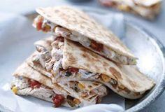 Weight Watchers Chicken & Corn Quesadillas (4 Points+)