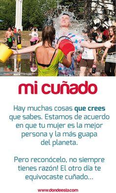TE QUIERO CUÑADO15 de mayo: Día Internacional de la Familia www.dondeesta.com
