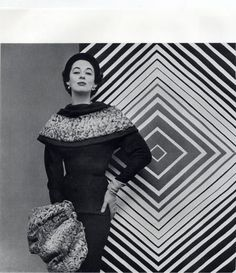 Maggy Rouff 1953 Vasarely