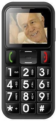 Handy Seniorenhandy Grosstastentelefon Telefon ohne Simlock Dual SIM W60