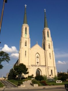 The Cathedral in downtown Fort Wayne, Indiana. Saw in August 2013 while in Ft Wayne, Indiana