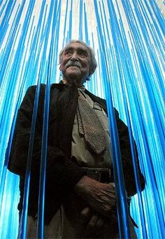 Jesus Soto, artiste plasticien, sculpteur et peintre vénézuélien