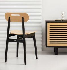 JONAS krzesło drewniane w skandynawskim stylu Mebloscenka Teak, Dining Chairs, Furniture, Home Decor, Decoration Home, Room Decor, Dining Chair, Home Furnishings, Home Interior Design