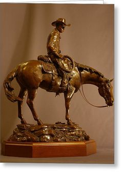 Bronze horse statues equine art displayed in the online fine art gallery of equine and equestrian art by Kim Corpany. Cowboy Horse, Cowboy Art, Horse Sculpture, Bronze Sculpture, Animal Sculptures, Elephant Home Decor, Equestrian Statue, Western Art, Western Decor
