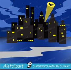50 % OFF SALE Clipart Superhero Digital Clipart by Alefclipart