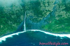 Waterfall in #hawaii. come visit for some great scenery  http://www.honulifestyle.com/