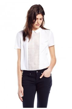 BOWLING BLANC Top - by Claudie Pierlot