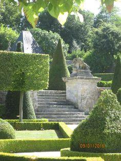 Château de Brécy (14) terrasse des berceaux