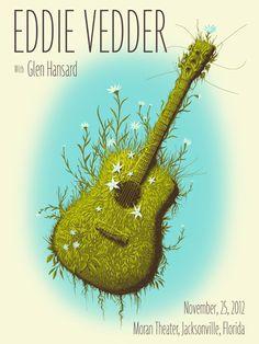 Eddie Vedder poster by Jeff Sotto.
