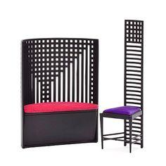 Miniature Makintosh Chair Set