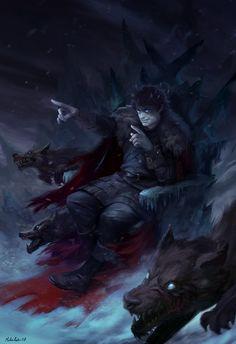 Night King Ramsay – Game of Thrones fan art by Mihai Radu Ramsay Game Of Thrones, Arte Game Of Thrones, Character Inspiration, Character Art, Character Design, Angel Demon, Game Of Thones, Fanart, Night King