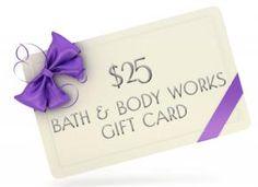 $25 Bath & Body Works Gift Card 6 Hour Flash Giveaway!