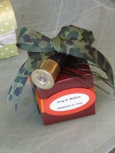 Fall/Autumn Rustic Hunting Camouflage Wedding by LynnsPartyFavors, $3.99