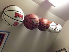 INVISI-ball Wall Mount - Basketball