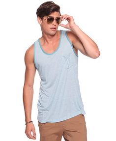 LOVE this striped tank. Perfect for Gulf Coast beach whether.