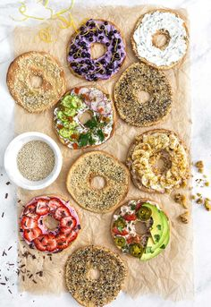 Quinoa Flatbread Bagels - Monkey and Me Kitchen Adventures