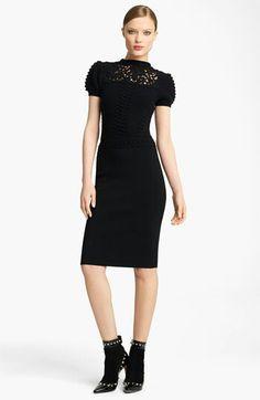 Valentino Textured Knit Dress--Very Classy.