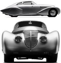 1938 Hispano Suiza Dubonnet Xenia 1