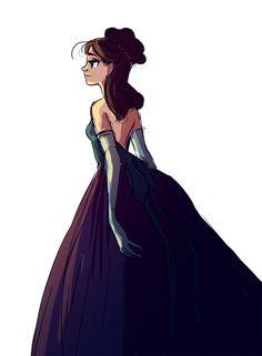Pretty girl in a dress time!