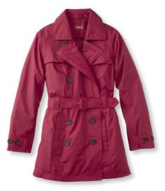 Women's Convertible Waterproof Trench Coat: Jackets and Coats | Free Shipping at L.L.Bean