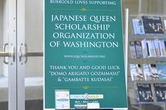 Bux4Gold loves supporting the Japanese Queen Scholarship Organization!