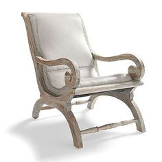 Augusto Chair - love the Grey wash!!  - $649