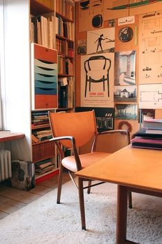 "Finn Juhl worked with a theory which he called ""from the inside and out"" His idea was that furniture created the room, and the room created the facade. This theory dictated his furniture design as well as his interior undertakings."