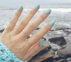 pastel nails, and super cute rings. Hand Jewelry, Cute Jewelry, Jewelry Accessories, Jewelry Design, Jewelry Rings, Hair And Nails, My Nails, Fashion Rings, Fashion Jewelry