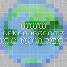 www.languageguide.org NUMBERS