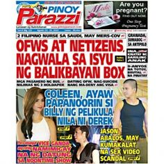 Pinoy Parazzi Vol 8 Issue 103 August 24 – 25, 2015 http://www.pinoyparazzi.com/pinoy-parazzi-vol-8-issue-103-august-24-25-2015/