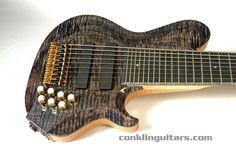 Custom Bass guitar Crossover 9 string