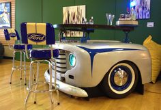 1948 Ford Bar  #Man #Cave #Garage