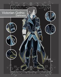 CLOSED Adoptable Auction: V.Gothic Darkness by Hassly.deviantart.com on @DeviantArt