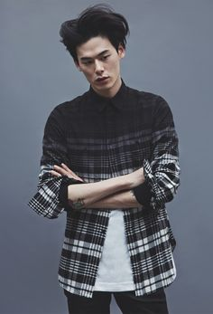 koreanmodel:  Kim Won Jung for Upscale F/W 2014 collection