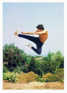 BRUCE LEE- Remember watching his movies and then going home pretending you knew…